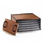 5-Tray Antique Copper Excalibur w/Timer