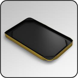 CHEF'SDESIGN® Model #6375 Double Burner Griddle - Global Gold