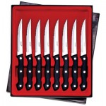 "Maxam® 8pc 8-7/8"" Steak Knife Set"