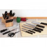 Slitzer™ 16pc Cutlery Set in Wood Block