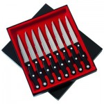 "Slitzer™ 8pc 8-7/8"" Steak Knife Set"