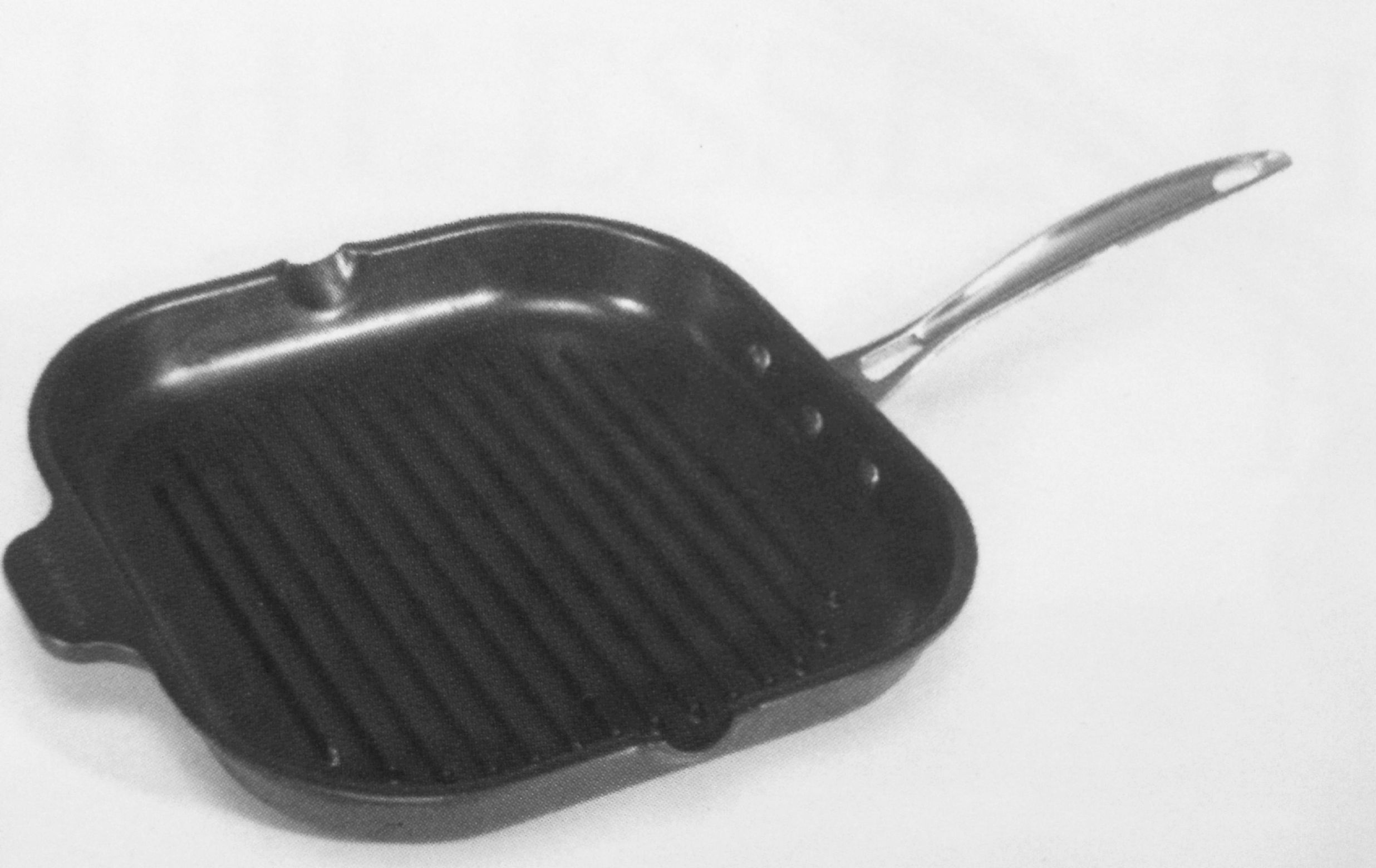 Gourmet Ribbed Grill Pan