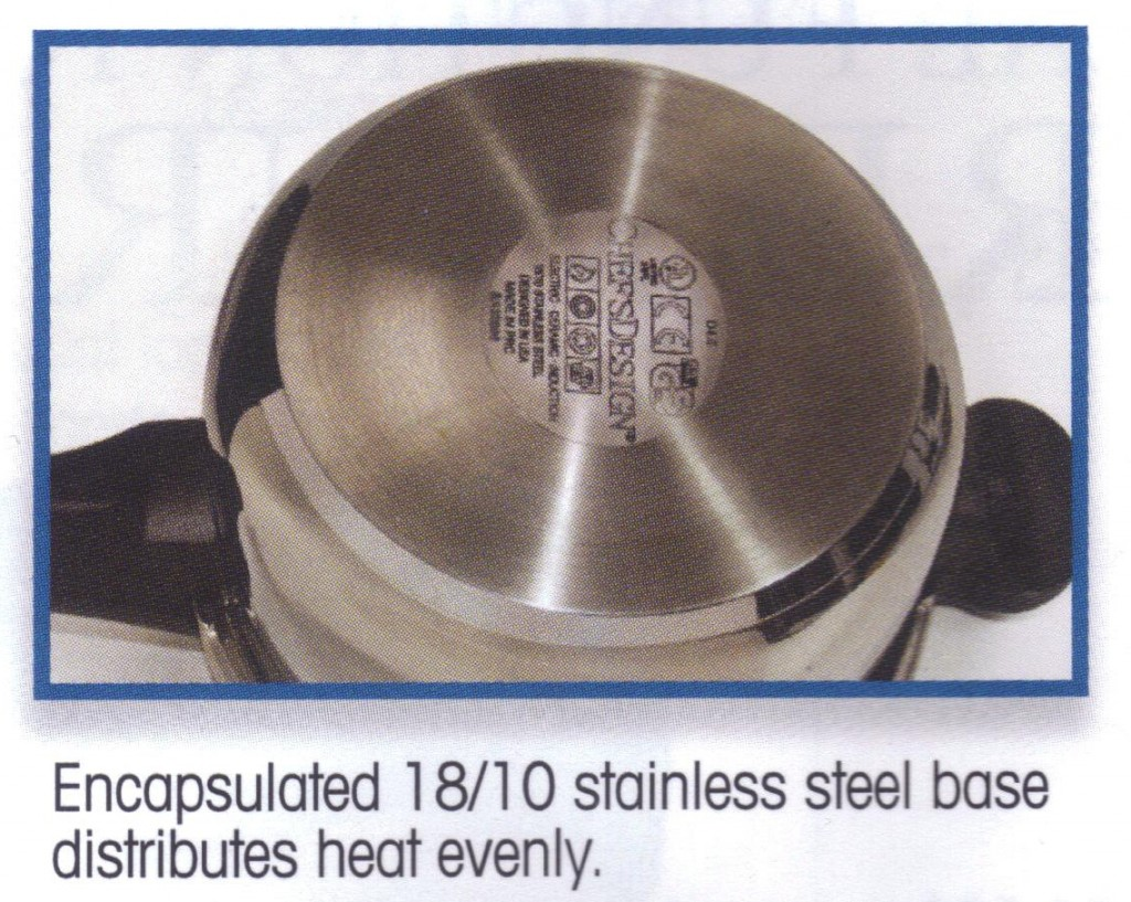 Stainless Steel Pressure Cooker Base