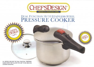 Stainless Steel Pressure Cooker Model D0450