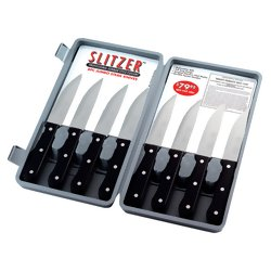 Slitzer™ 8pc Professional German-Style Jumbo Steak Knives
