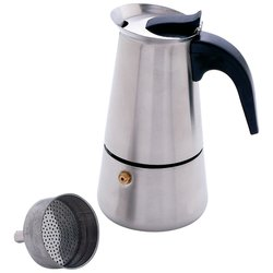 Chef's Secret® Heavy-Gauge Stainless Steel 4-Cup Espresso Maker