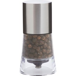 Chef's Secret® Stainless Steel & Acrylic Pepper Mill