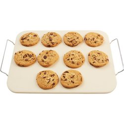 "Precise Heat™ 15"" x 12"" Baking Stone with Rack"