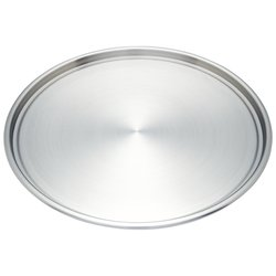 Maxam® Stainless Steel Pizza Pan