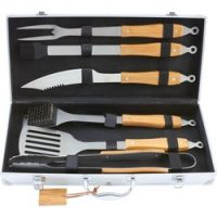 Chefmaster™ 7pc Stainless Steel Barbeque Tool Set