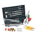 Chefmaster™ 19pc All Stainless Steel Barbeque Tool Set