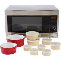 LaCuisine™ 18pc Microwave Stoneware Set