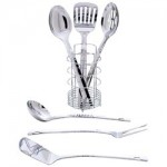 Wyndham House™ 7pc Stainless Steel Kitchen Tool Set