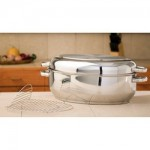 Precise Heat™ 12-Element T304 Stainless Steel Multi-Baker/ Roaster with Wire Rack