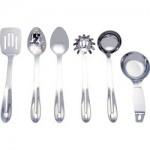 Maxam® 6pc Stainless Steel Kitchen Tool Set