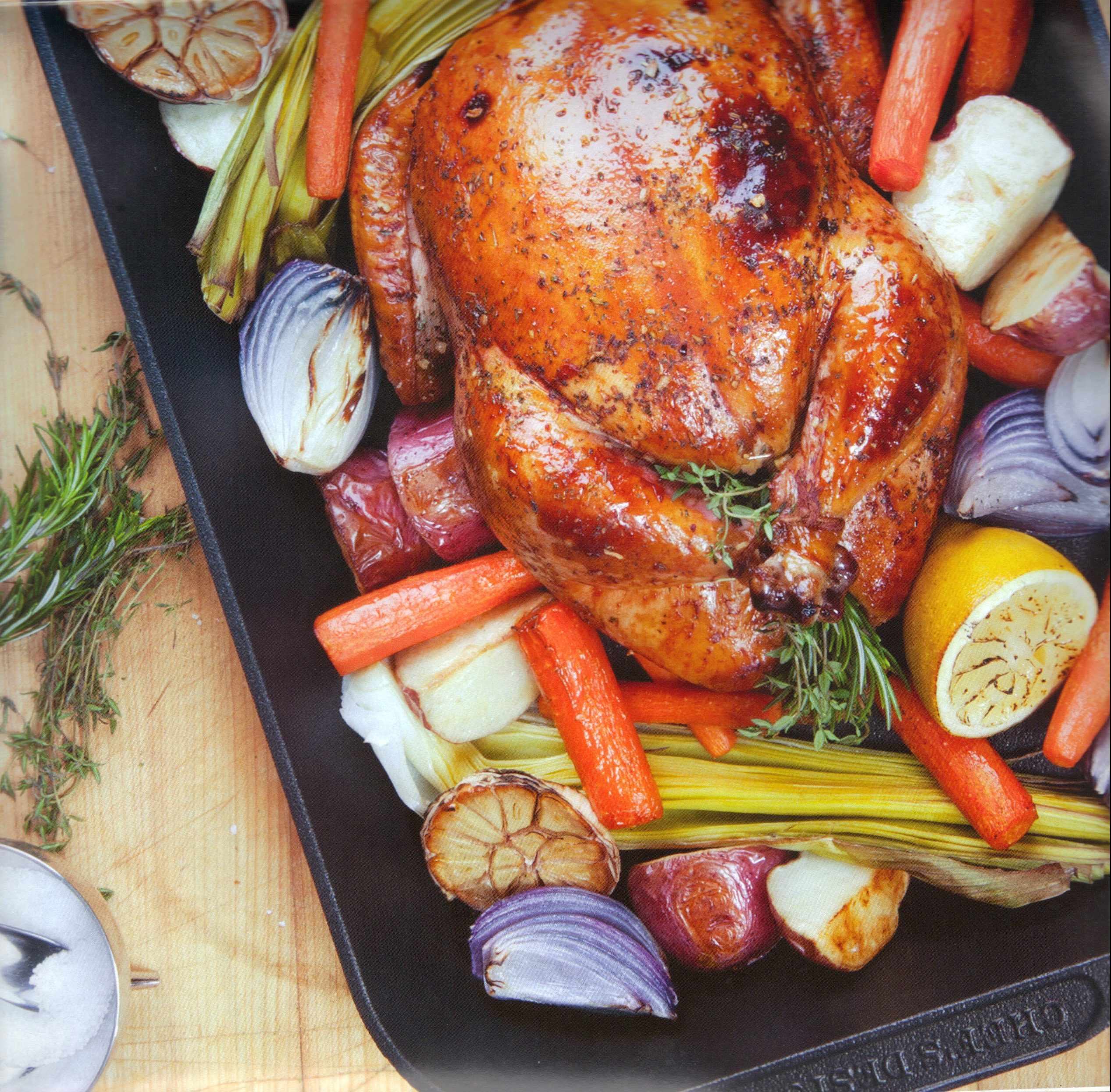 ChefsDesign® Roast Bake Pan